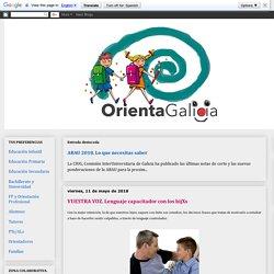 Orienta Galicia: VUESTRA VOZ. Lenguaje capacitador con los hijXs
