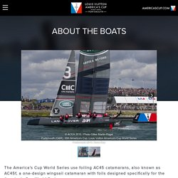 ABOUT THE BOATS - Louis Vuitton America's Cup World Series Portsmouth