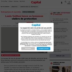 Louis Vuitton lance sa luxueuse visière de protection
