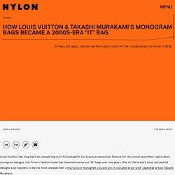 "How Louis Vuitton & Takashi Murakami's Monogram Bags Became A 2000s-Era ""It"" Bag"