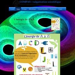 L'énergie de A à Z - COMPAS - vulgarisation scientifique