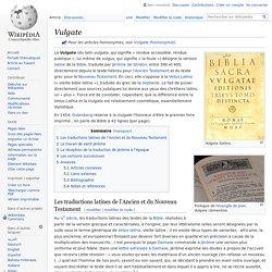 Vulgate