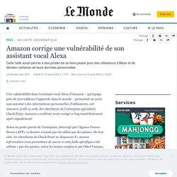 Amazon corrige une vulnérabilité de son assistant vocal Alexa