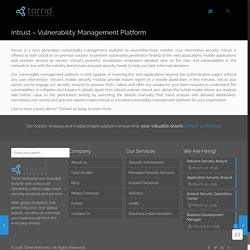 Intrust - Vulnerability Management Platform