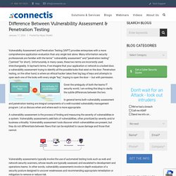 Difference Between Vulnerability Assessment & Penetration Testing