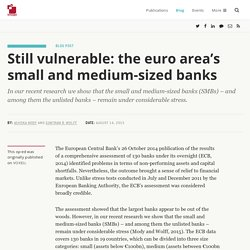 Still vulnerable: the euro area's small and medium-sized banks