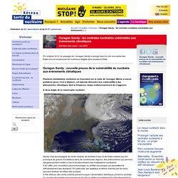 2012 - Ouragan Sandy : les centrales nucléaires vulnérables aux événements climatiques