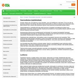 Vuorovaikutus työyhteisössä - Työturvallisuuskeskus