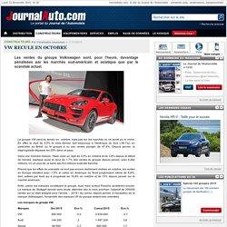 VW recule en octobre