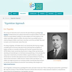Vygotskian Approach - Tools of the Mind