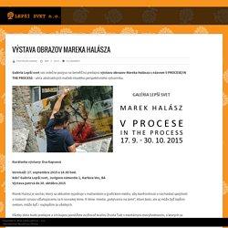 Výstava obrazov Mareka Halásza