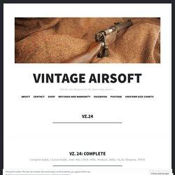 Vz.24 – Vintage Airsoft