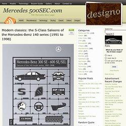 Mercedes 500SEC.com
