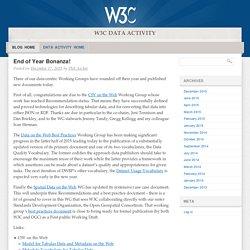 W3C Data Activity