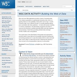 C Data Activity - Building the Web of Data