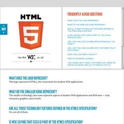 C HTML5 Logo FAQ