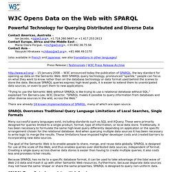 C Opens Data on the Web with SPARQL
