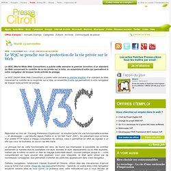 Le W3C se penche sur la protection de la vie privée sur le Web