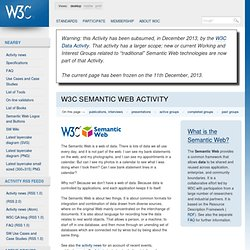 C Semantic Web Activity