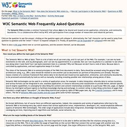 C Semantic Web FAQ