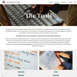 WA Digital TeachKit - Tools