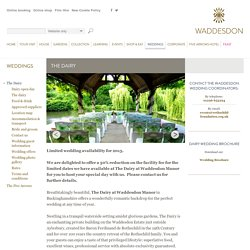 Waddesdon Manor - The Dairy
