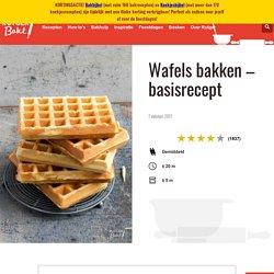 Wafels bakken – basisrecept - Rutger Bakt