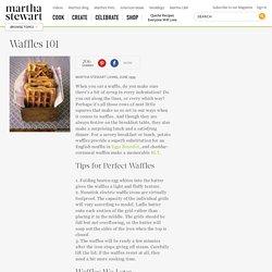 Waffles 101