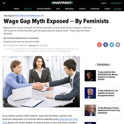 Wage Gap Myth Exposed