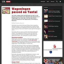16-04-2015 Wageningen passed on Yantai
