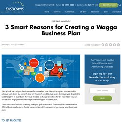 Why Wagga Businesses Need a Business Plan for 2016