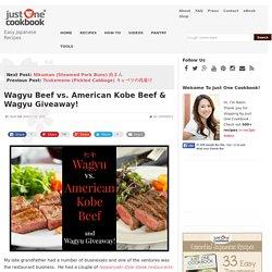 Wagyu Beef vs. American Kobe Beef