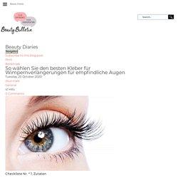 So wählen Sie den besten Kleber für Wimpernverlängerungen für empfindliche Augen