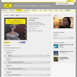 Rufus Wainwright - Prima Donna - 2 CDs