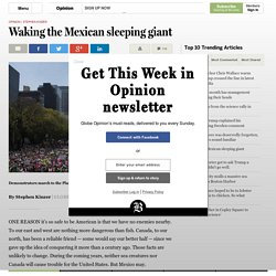 Waking the Mexican sleeping giant