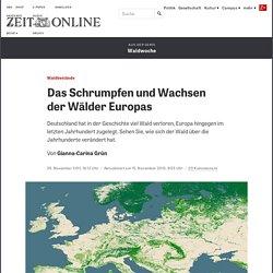 Waldbestände: Das Schrumpfen und Wachsen der Wälder Europas
