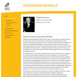 Waldemar Bonsels Stiftung
