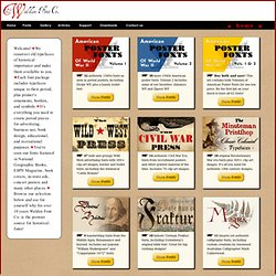 The Walden Font Co. - Purveyors of old and historic fonts and clip-art