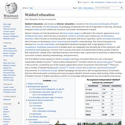 Waldorf education