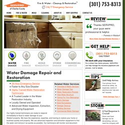 Waldorf, MD Water Damage Restoration and Water Removal