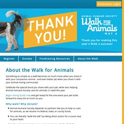 Walk for Animals 2017: About the Walk for Animals