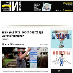 Walk Your City : l'open source qui vous fait marcher