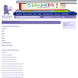 Walker Books - Activities for Home and School