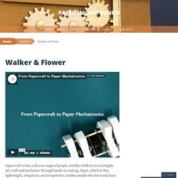 Paper Mechatronics