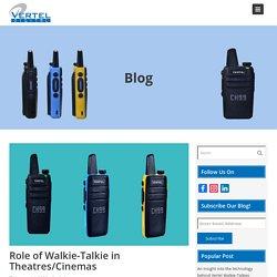 Role of Walkie-Talkie in Theatres/Cinemas - Blog
