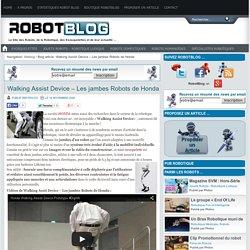 Walking Assist Device – Les jambes Robots de Honda