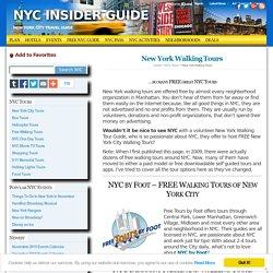 Manhattan Tours Led by NY Natives