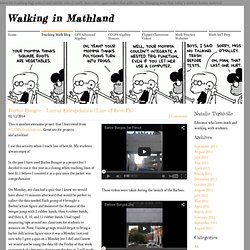 Walking in Mathland