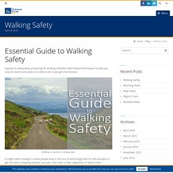 Walking Safety - Ordnance Survey Ireland