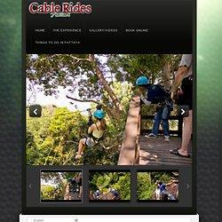 Cable Rides Thailand – Eco Tour Adventures